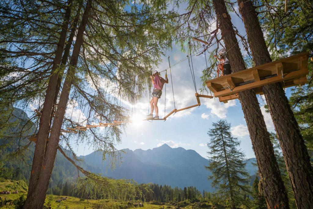 Seilgarten · Bergsommer & Sommerurlaub in Radstadt & Obertauern