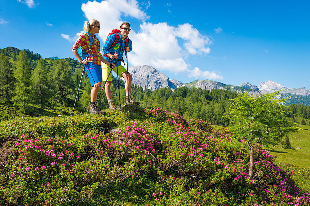 Wandern · Bergsommer & Sommerurlaub in Radstadt & Obertauern