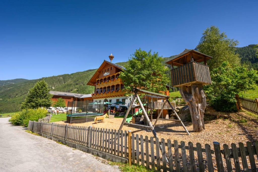 Sommeraufnahme · Bauernhofurlaub mit Halbpension am Marchlhof in Untertauern, Salzburger Land