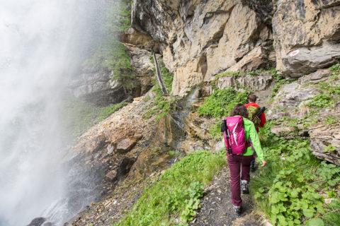 Johanneswasserfall, Gnadenalm in Obertauern