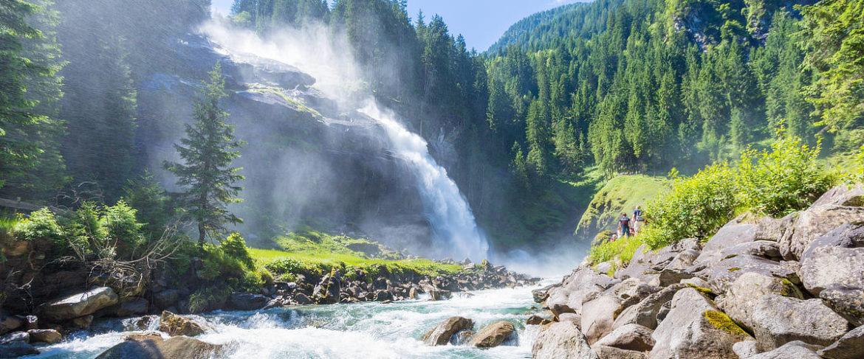 Krimmler Wasserfälle · Tagesausfluege, Marchlhof Untertauern
