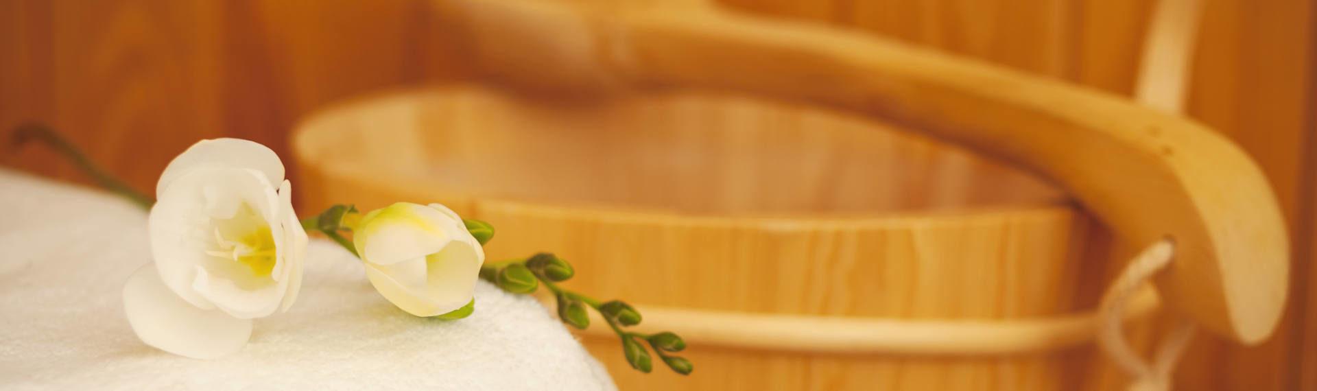 Sauna & Wellness · Bauernhofurlaub Marchlhof in Untertauern