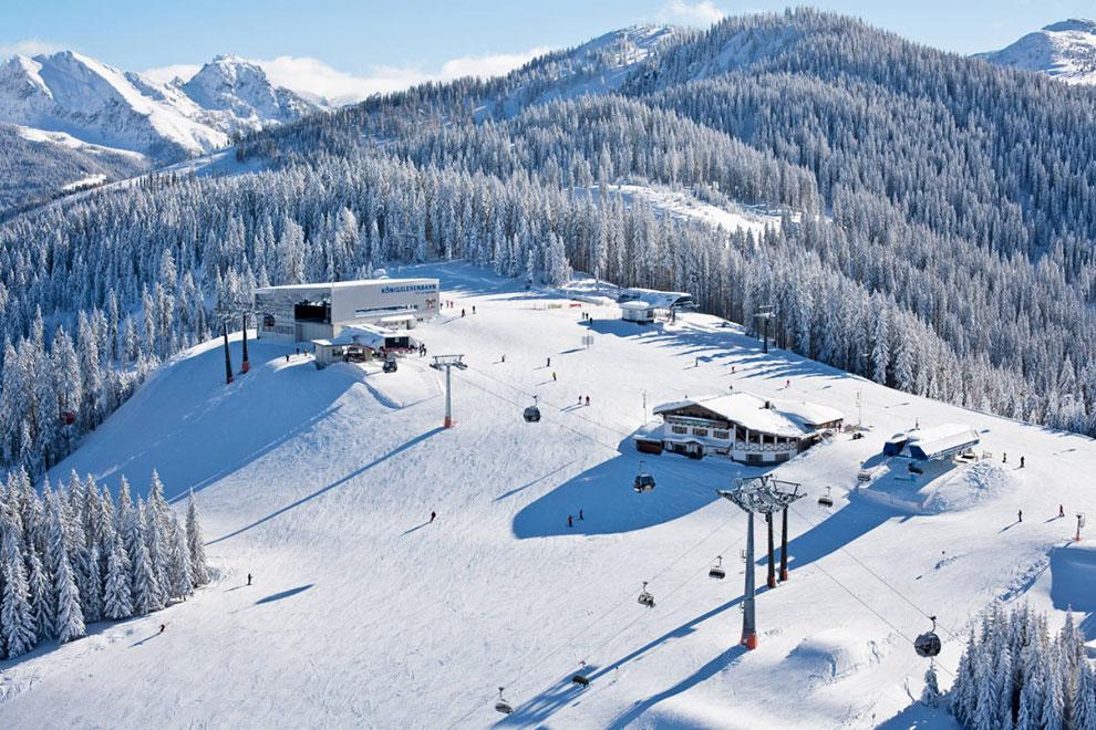 Skifahren in Radstadt-Altenmarkt · Skiurlaub am Bauernhof Marchlhof in Untertauern, Salzburger Land