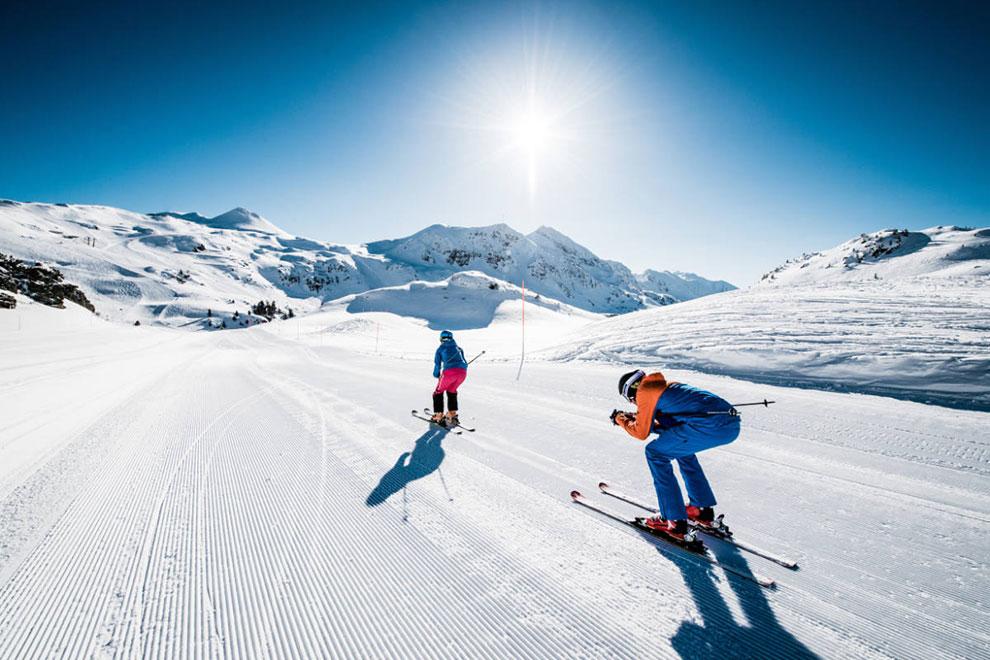 Skifahren in Obertauern · Skiurlaub am Bauernhof Marchlhof in Untertauern, Salzburger Land